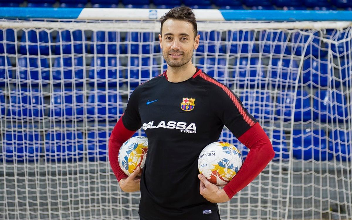Paco Sedano, millor porter del món del 2017