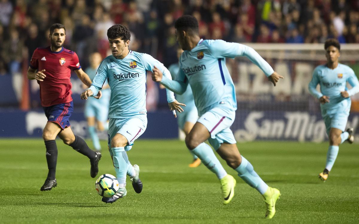 Real Zaragoza – Barça B: A per un 2018 apassionant