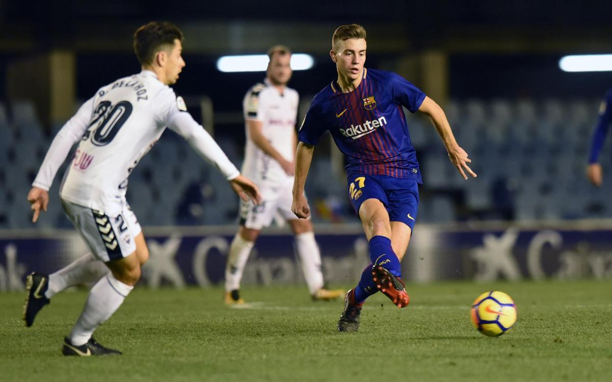 Barça B - Real Valladolid: Empezar la segunda vuelta como la primera