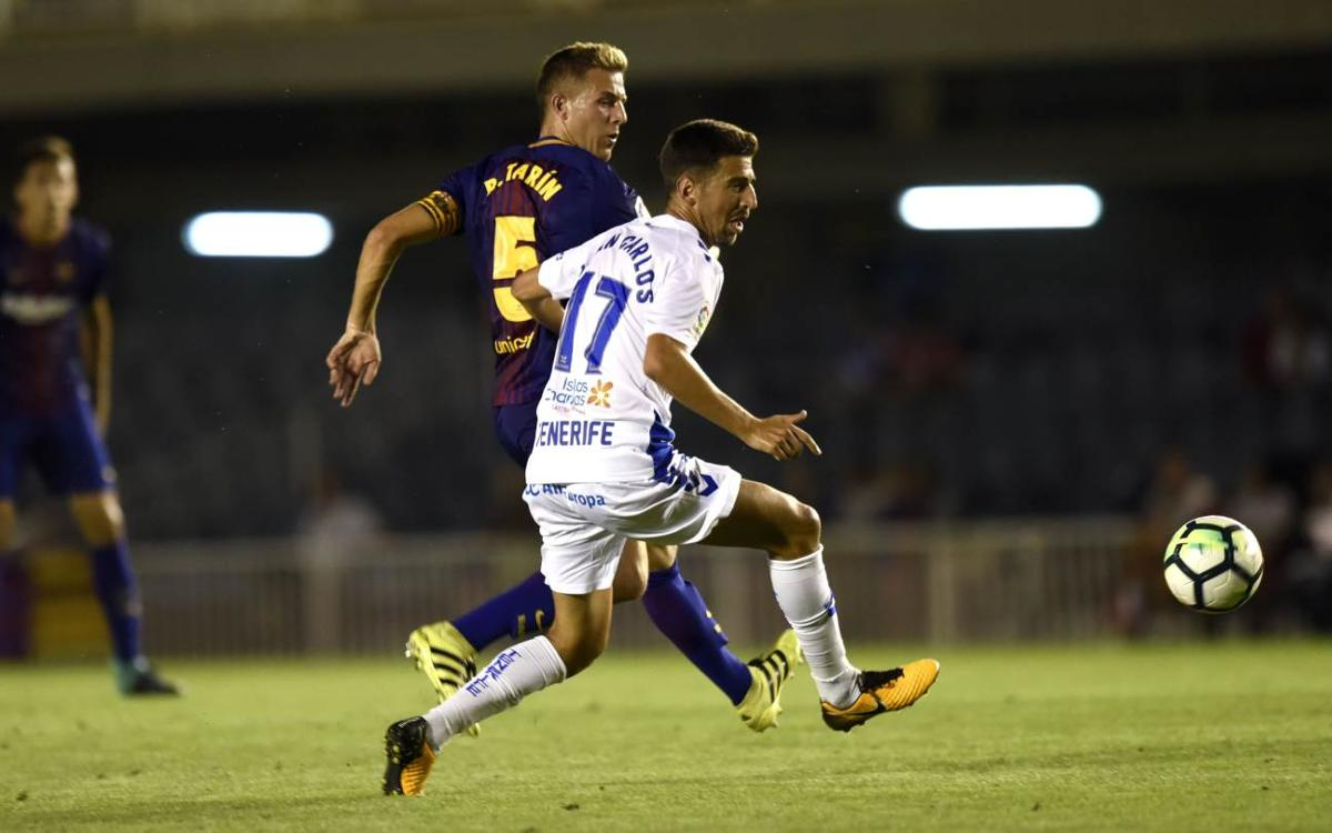 CD Tenerife - Barça B: Sumar a domicilio para recortar puntos