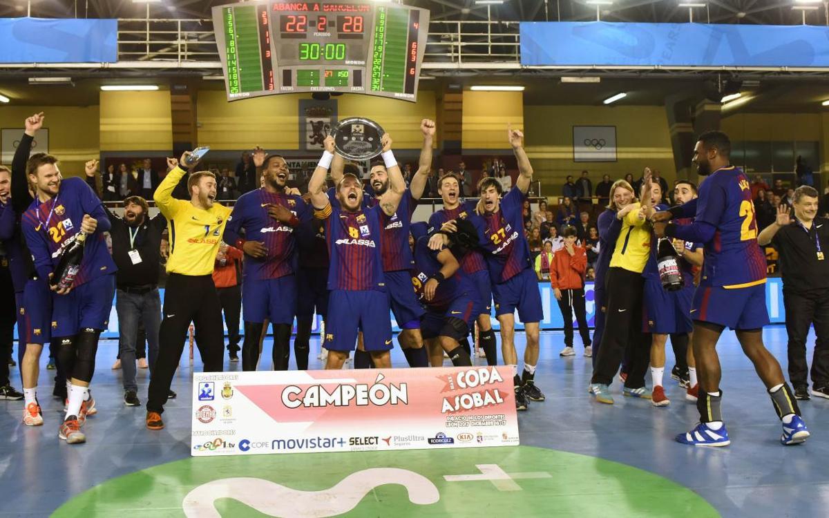 La séptima Copa Asobal consecutiva