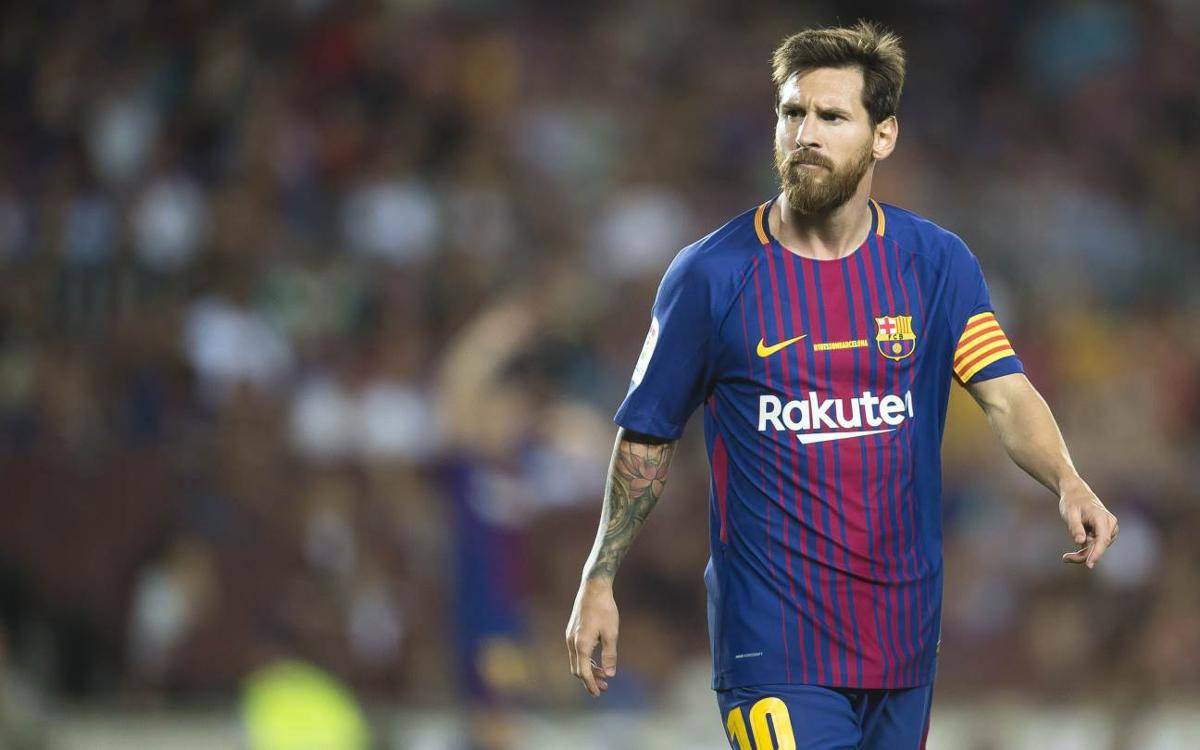 Messi does it again: woodwork three times in one game!
