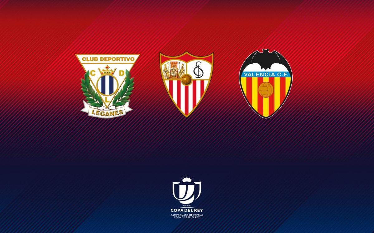 Quel adversaire préférez-vous pour le FC Barcelone en demi-finales de la Coupe du Roi ?