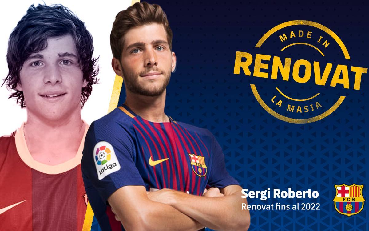 Acord per a la renovació del contracte de Sergi Roberto fins al 2022