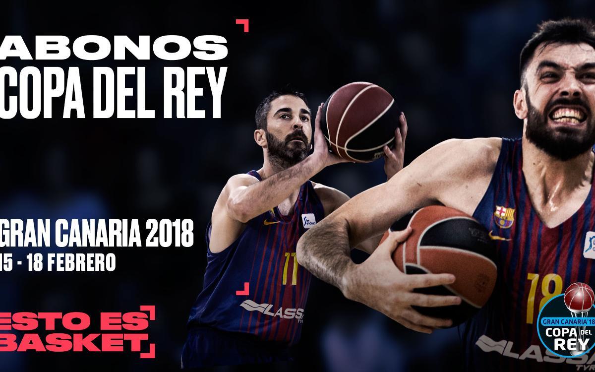 Los abonos para la Copa del Rey 2018, a la venta