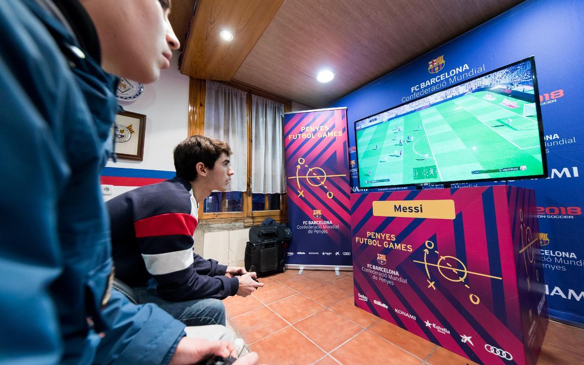 Arriba el nou Torneig Penyes Futbol Games