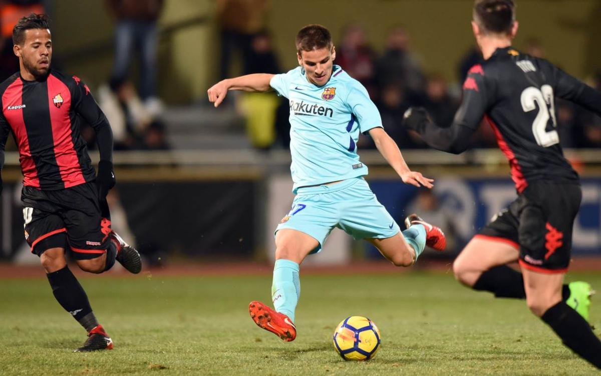 Reus Deportiu - FC Barcelona B: Insistencia sin premio (2-1)