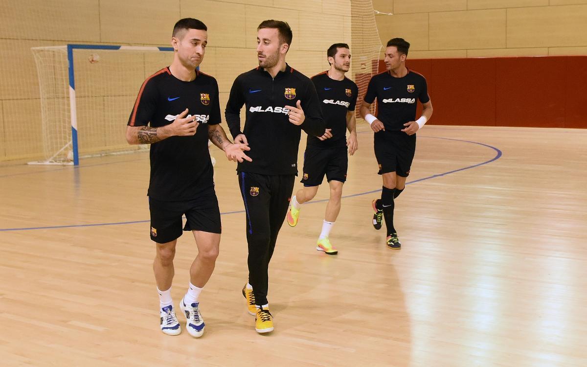 El Barça Lassa vuelve a la actividad