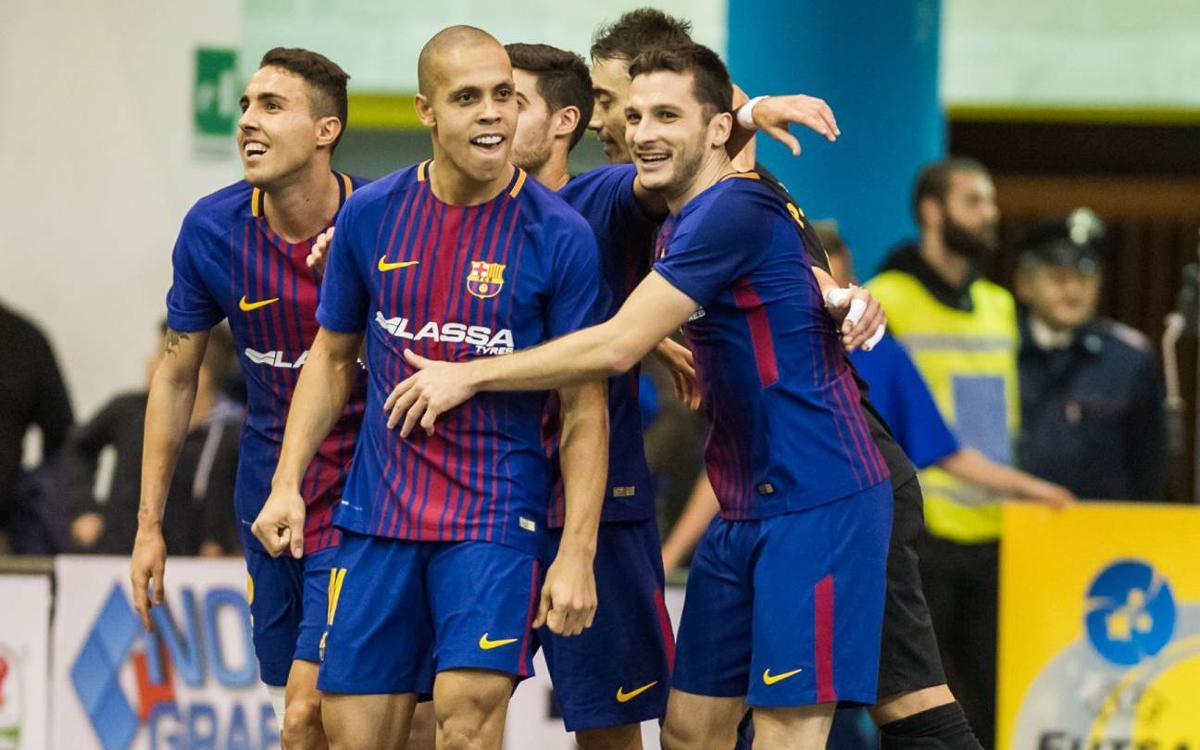 FC Barcelona 3-1 Pescara: Another Final Four!
