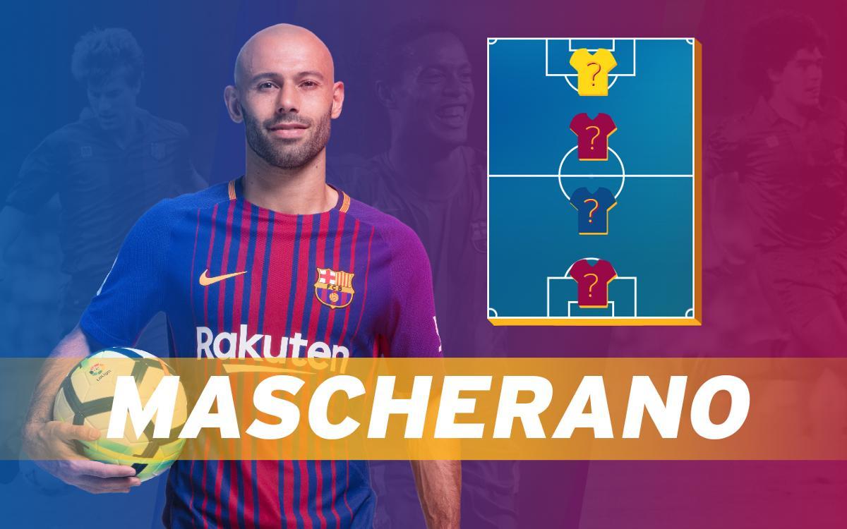 ¡Descubre el TOP-4 de Javier Mascherano!
