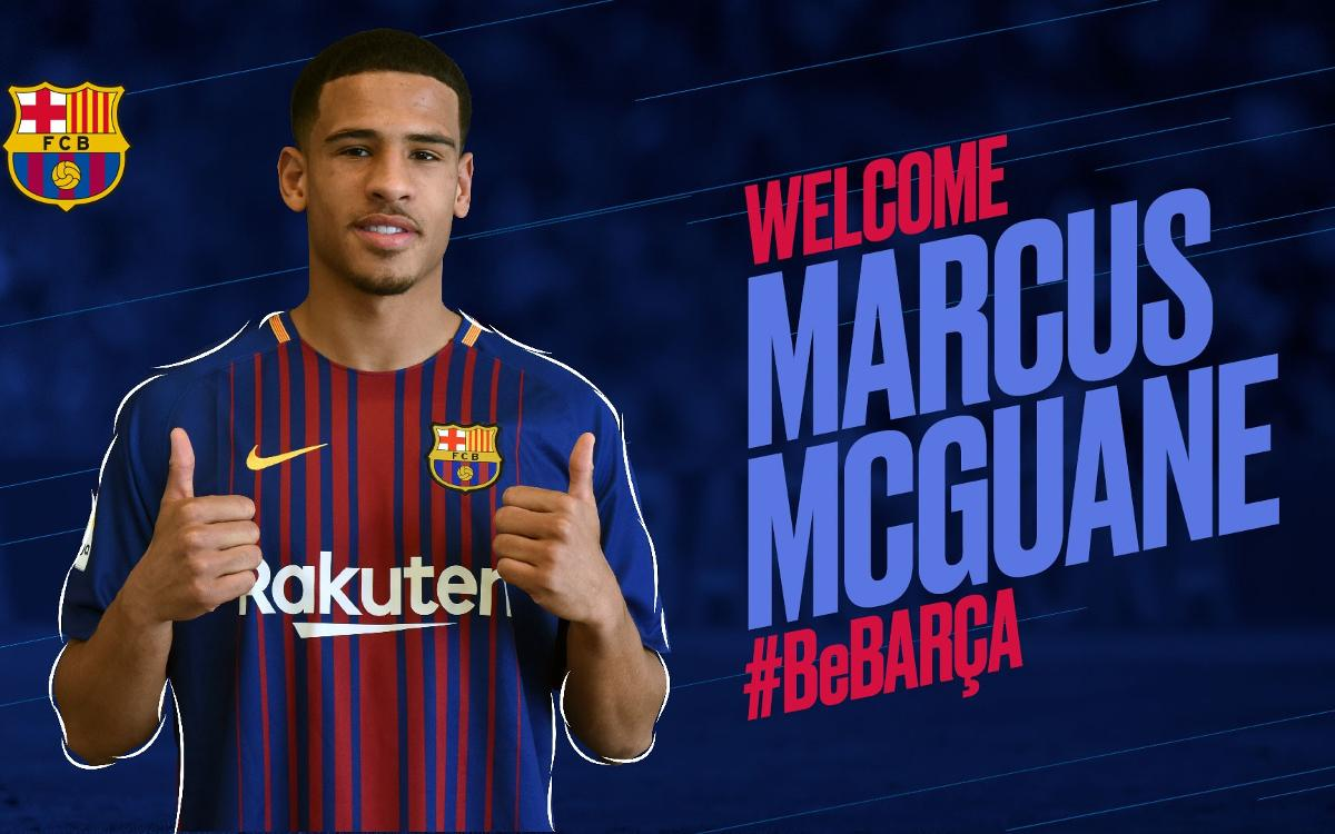 Agreement with Arsenal for the transfer of Marcus McGuane