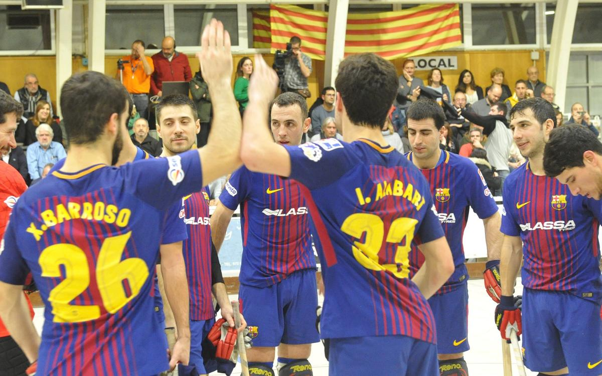 Palafrugell 0-7 FC Barcelona Lassa: Successful first visit