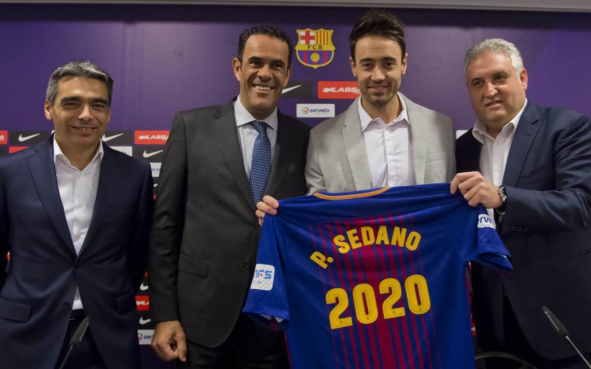 Paco Sedano renova fins al 2020