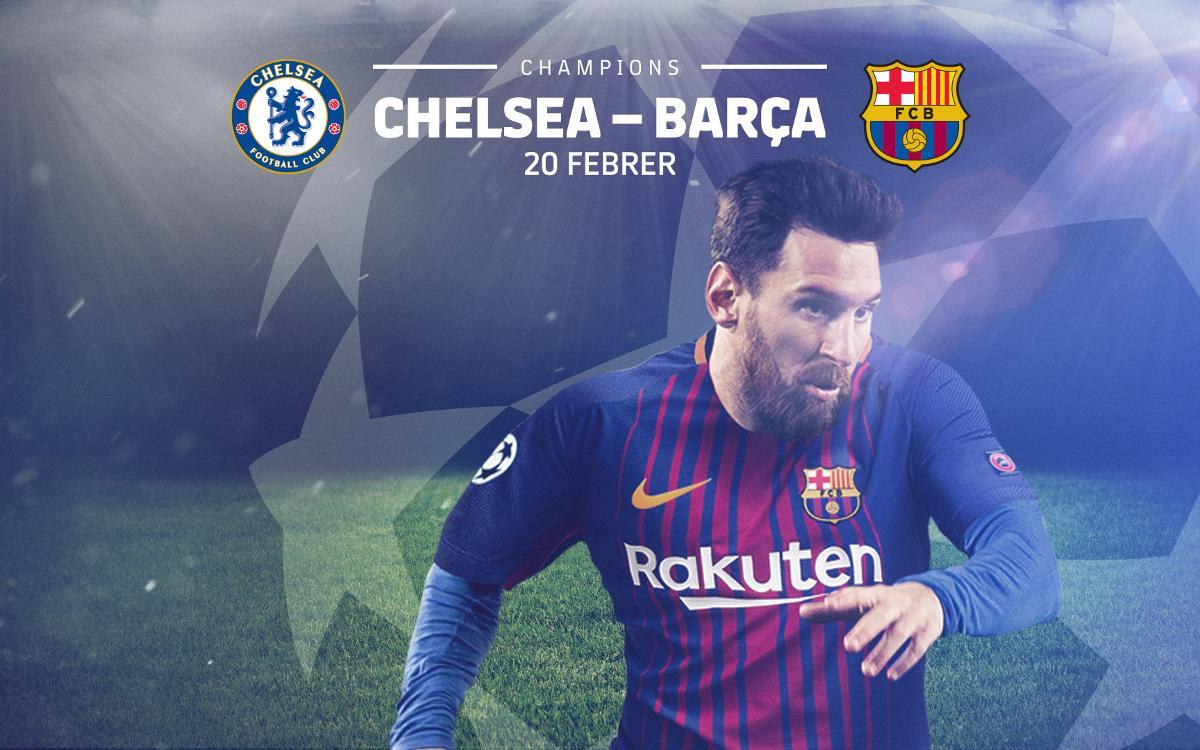 Inici de la venda d'entrades del Chelsea-Barça per als socis