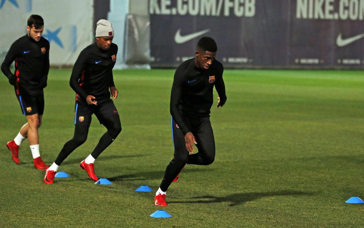 Dembélé back in squad after 108 days of recovery