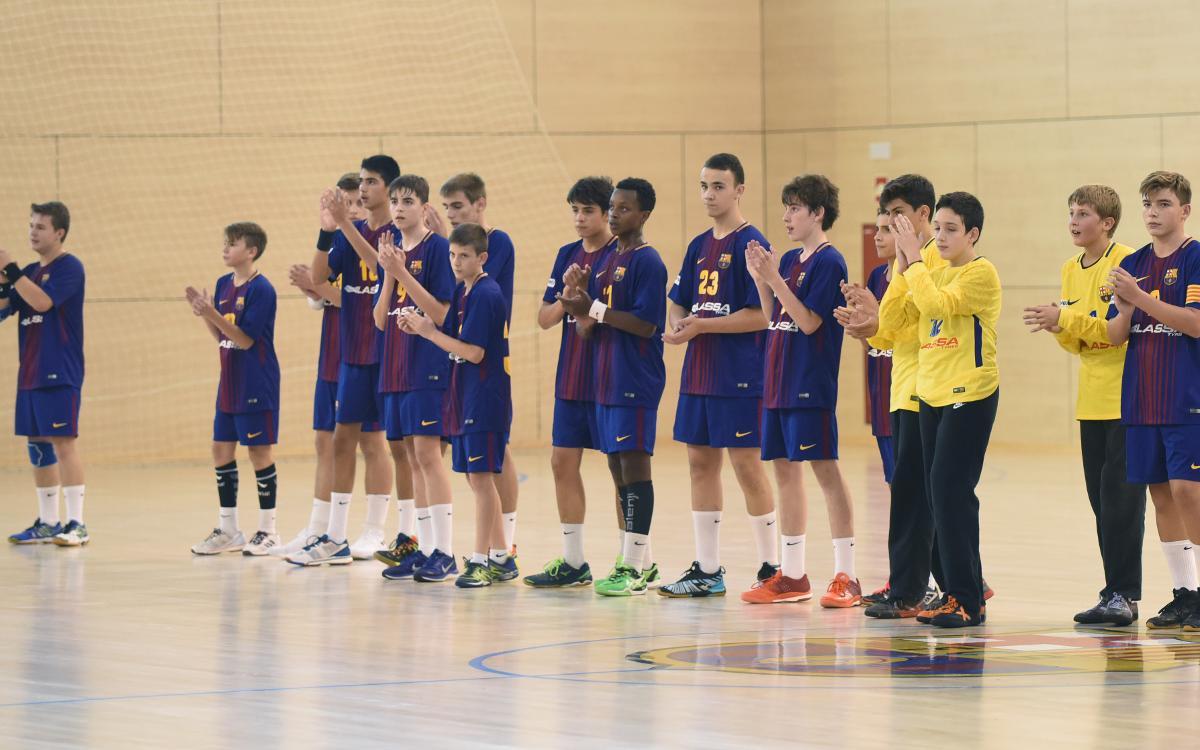 Les seleccions catalanes plenes de jugadors del Barça Lassa d'handbol