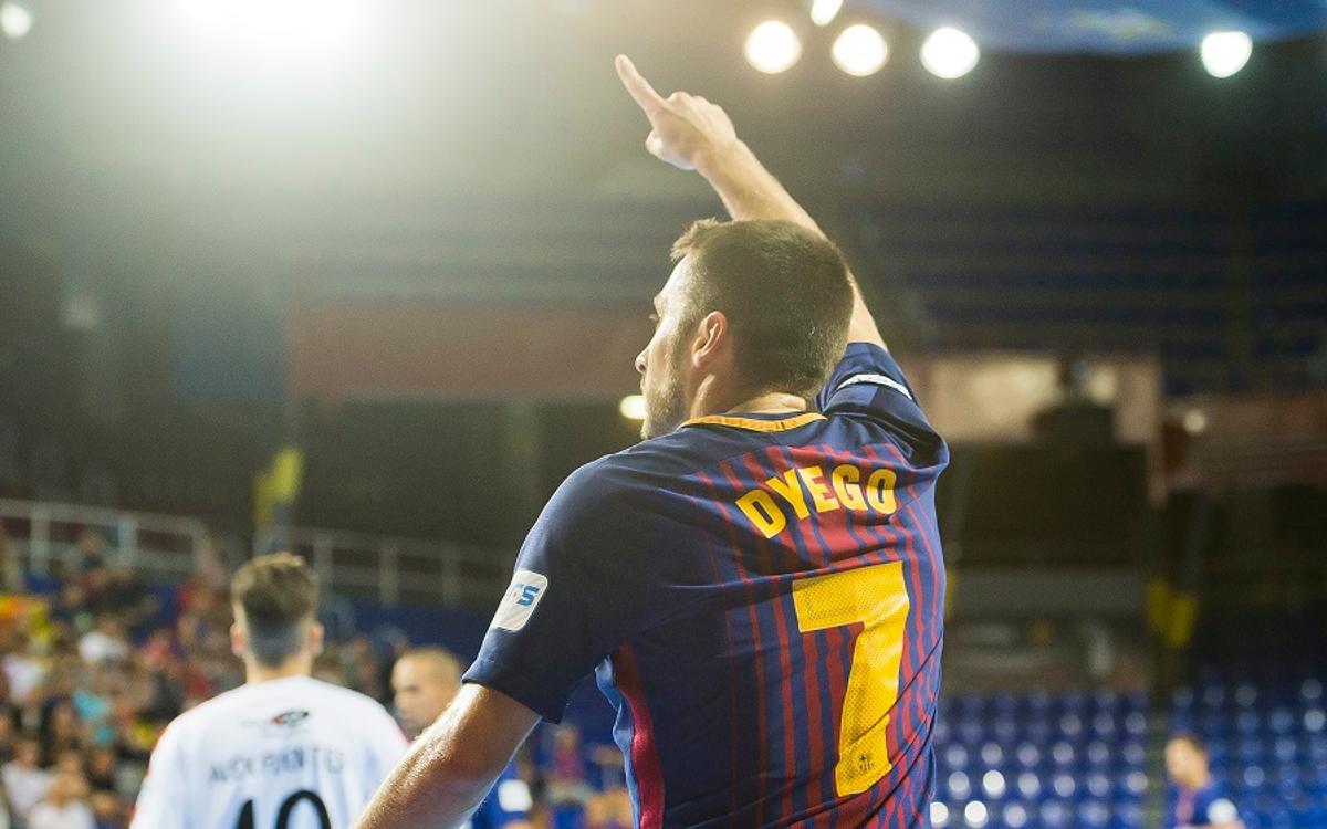 Dyego Zuffo i Paco Sedano, nominats als Futsal Awards 2017