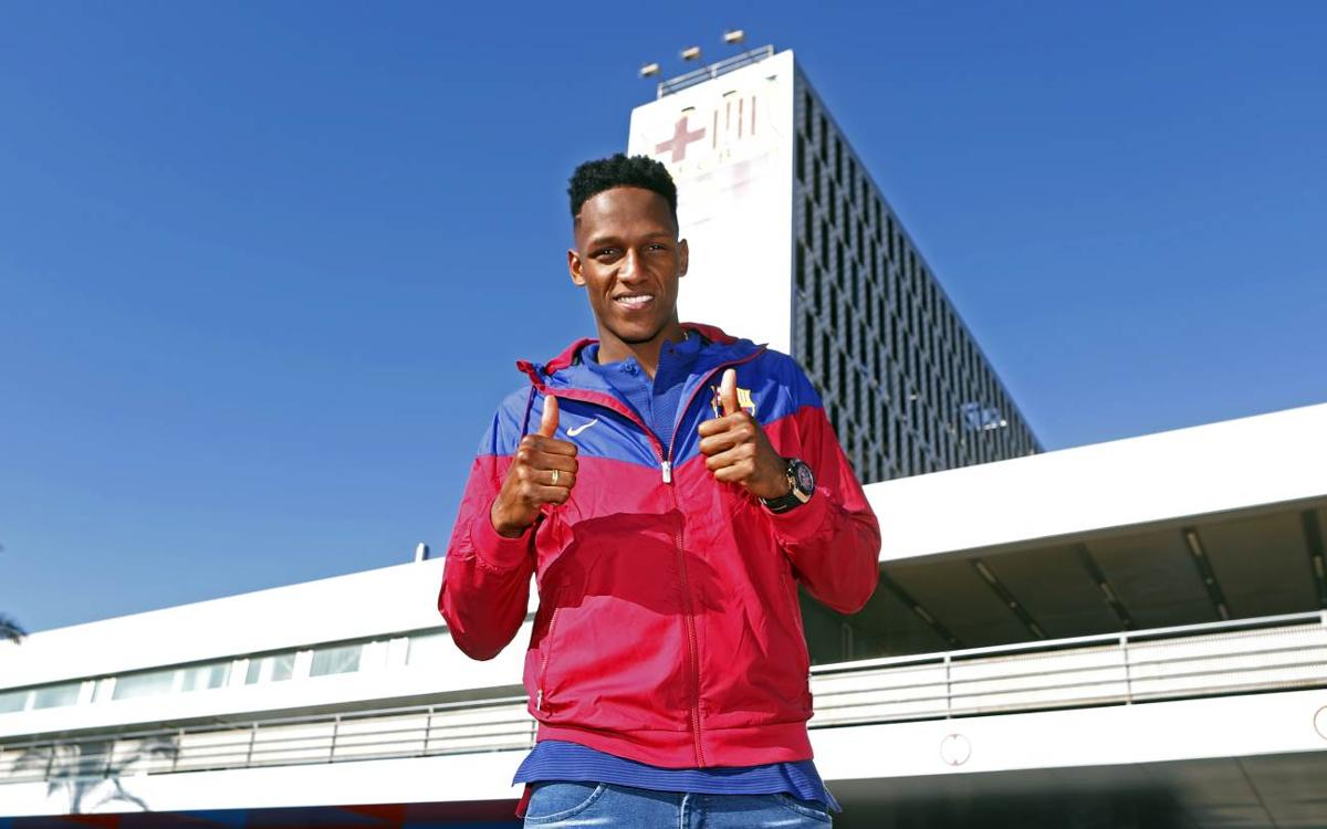 Yerry Mina's first day from the inside