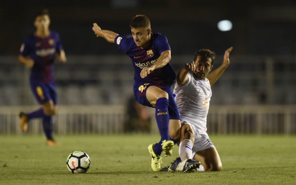 FC Barcelona B - Tenerife: Superados por la efectividad del Tenerife (0-3)