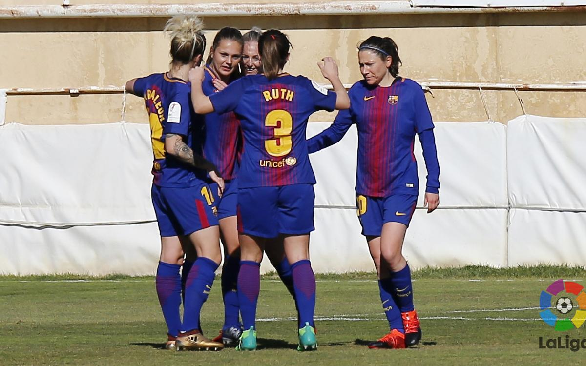 Fundació Albacete – FC Barcelona Women: A victory from beginning to end (0-3)