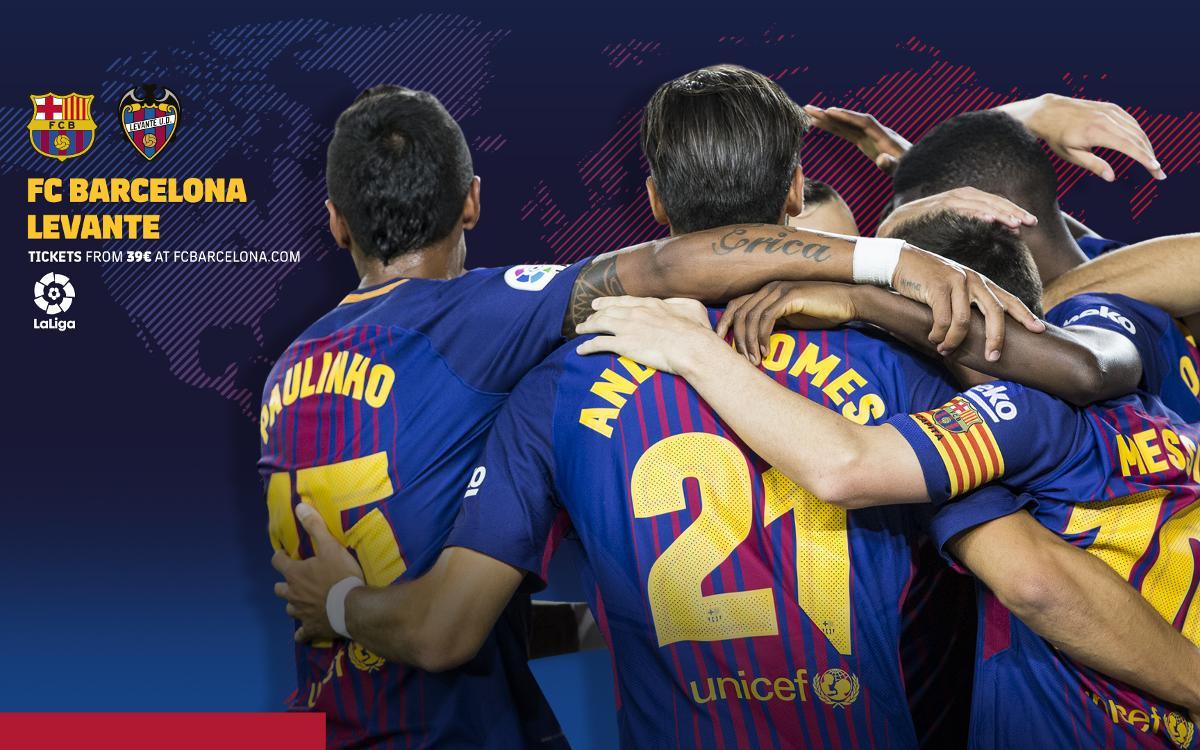 Où et quand voir FC Barcelone - Levante