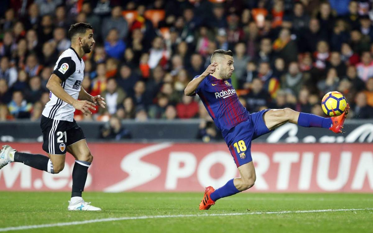 Every angle: Jordi Alba's goal against Valencia