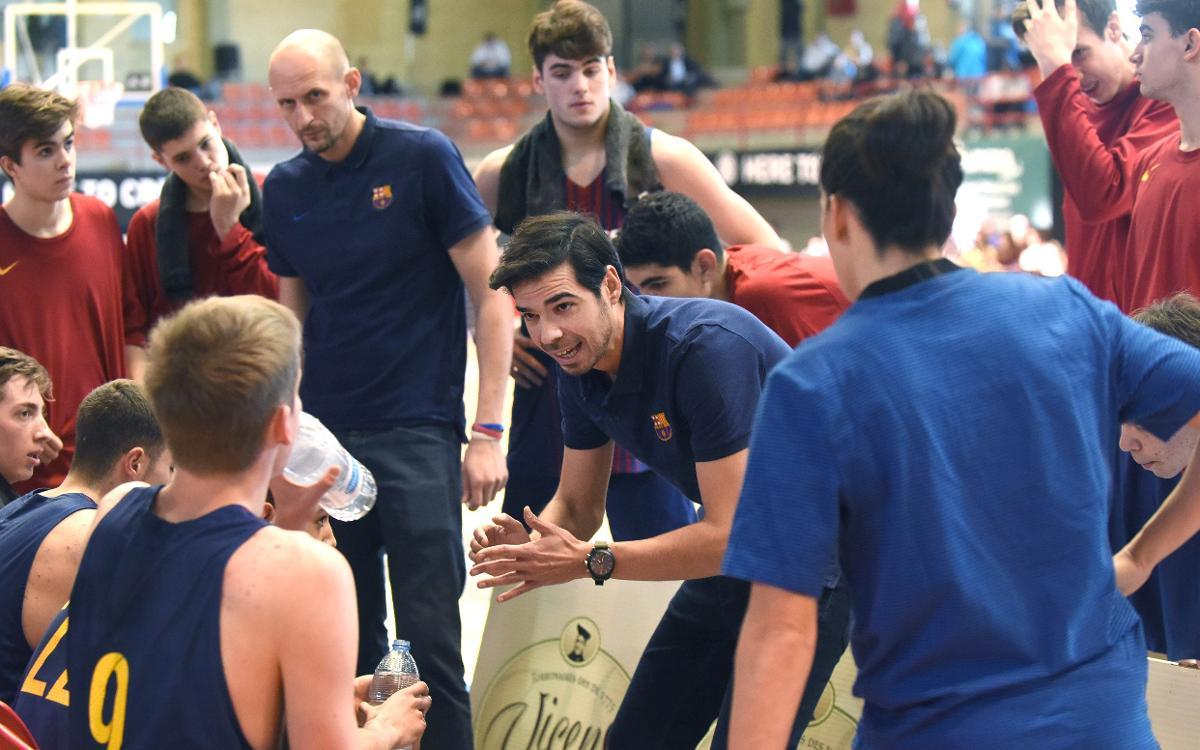 Barça Lassa U18 – Promitheas Patras (104-84): Segueixen invictes a L'Hospitalet