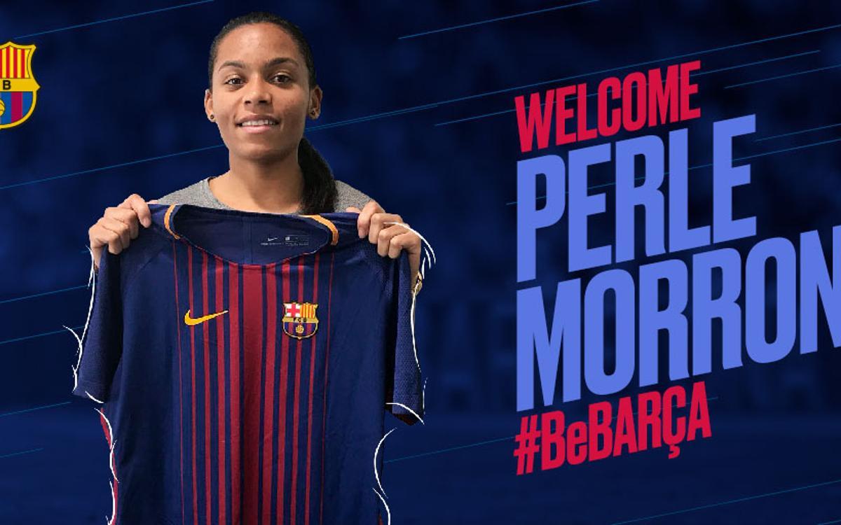 Perle Morroni renforce le Barça Féminin