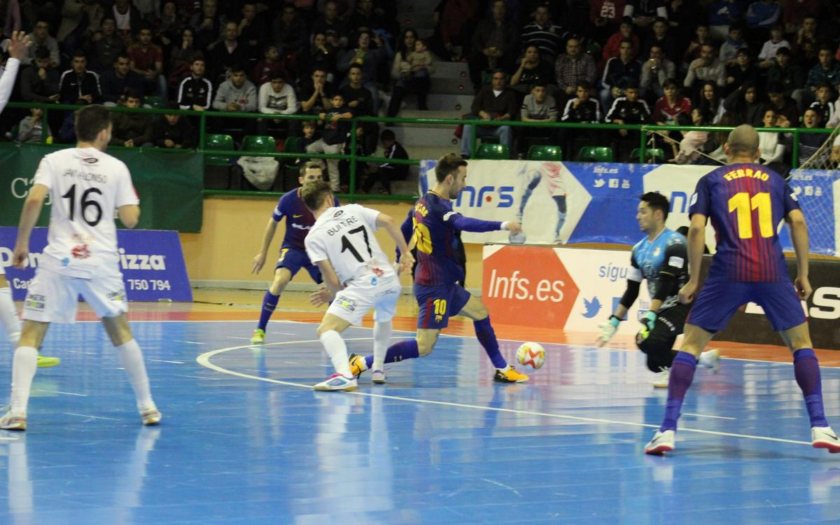 Naturpellet Segòvia - Barça Lassa: Valuable victory with a thrilling finale (7-8)