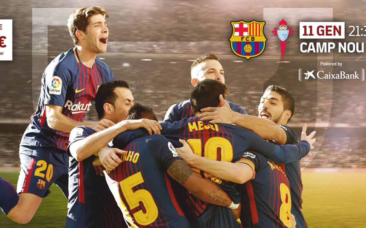 Ampliació horari de metro pel partit de Copa del Rei FC Barcelona- Celta de Vigo