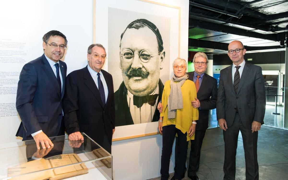 Inaugurado el Espai Gamper del Museo del FC Barcelona