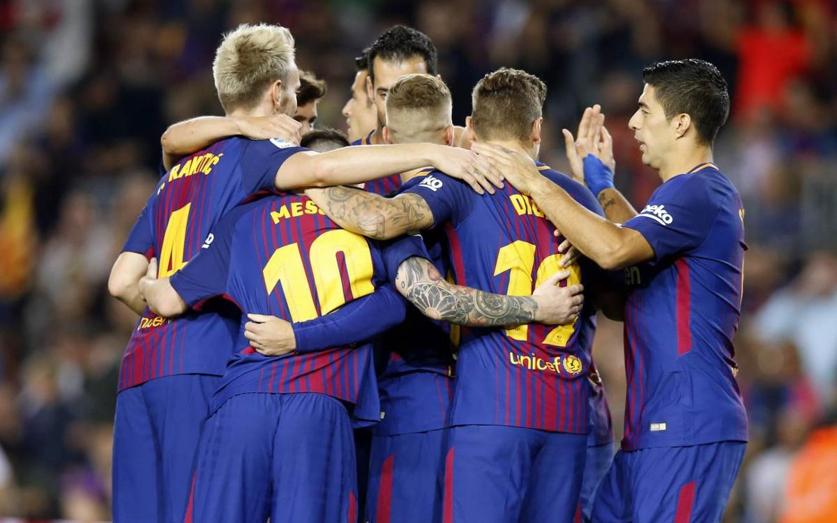 Barça's schedule for rest of 2017 now complete