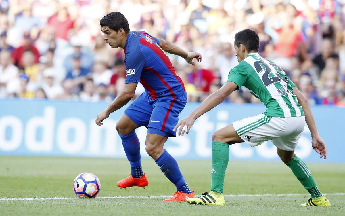 Remembering the goals that Luis Suárez has scored against Betis