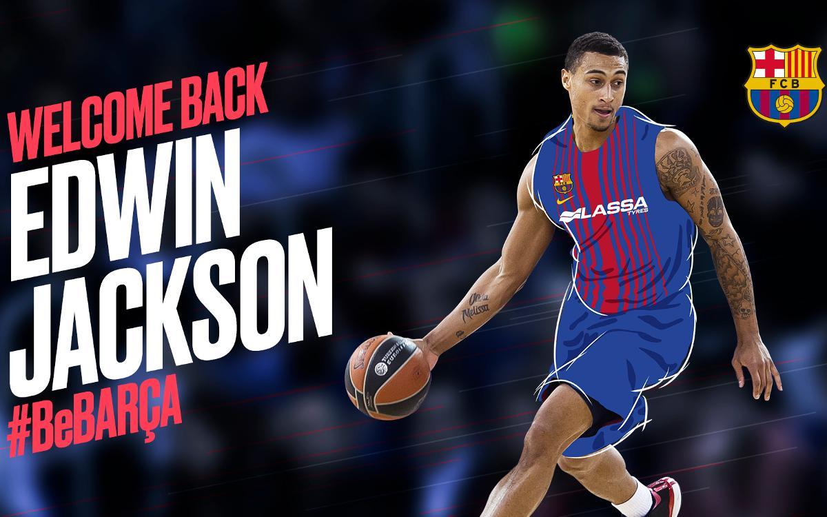 Edwin Jackson : qualité et précision pour le Barça Lassa