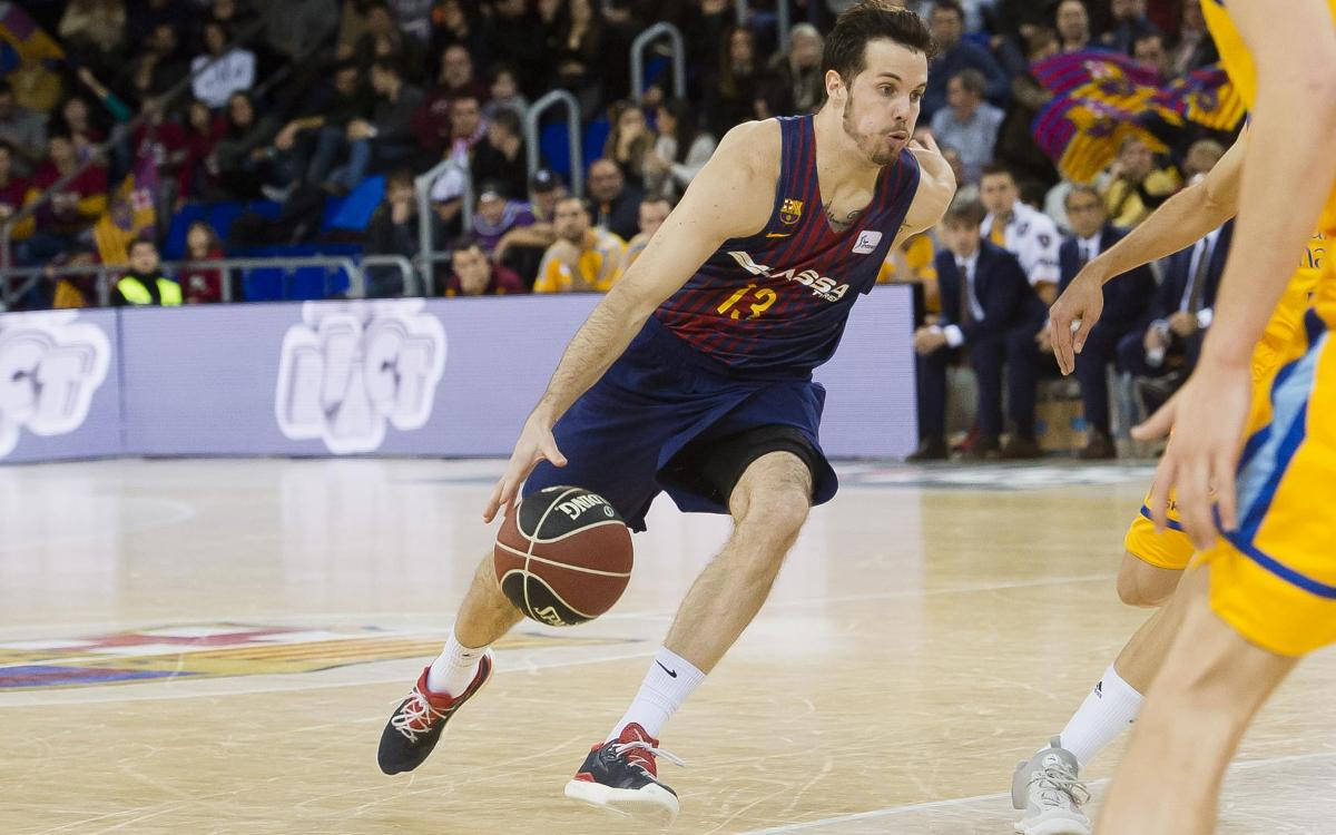 Barça Lassa - Herbalife Gran Canària: Unlucky with shot conversion (77-88)
