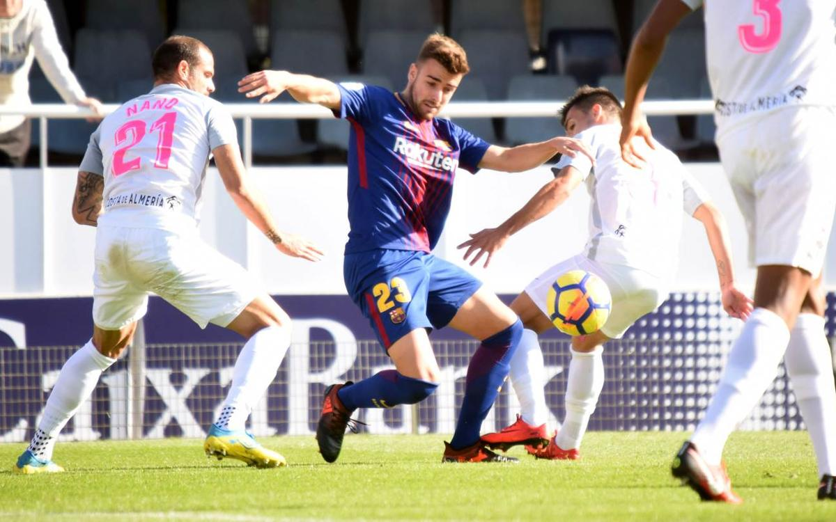 Barça B - UD Almeria: They deserved more (1-1)
