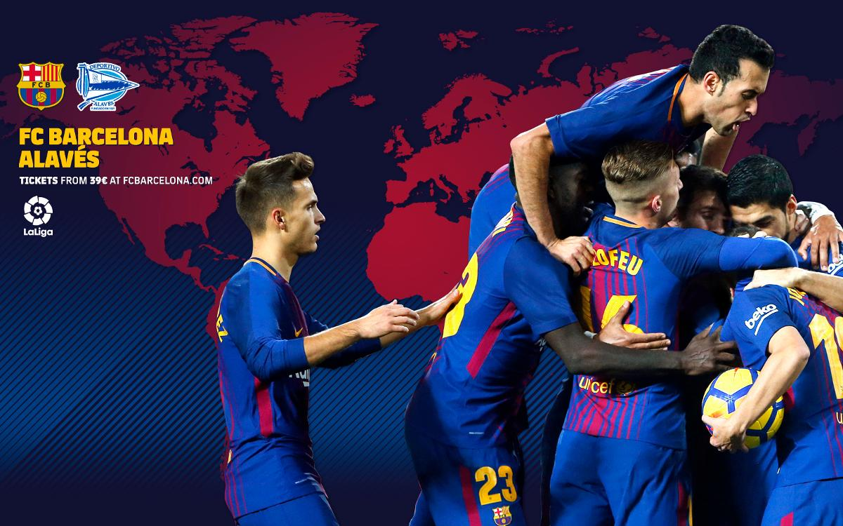 When and where to watch Barça v Alavés