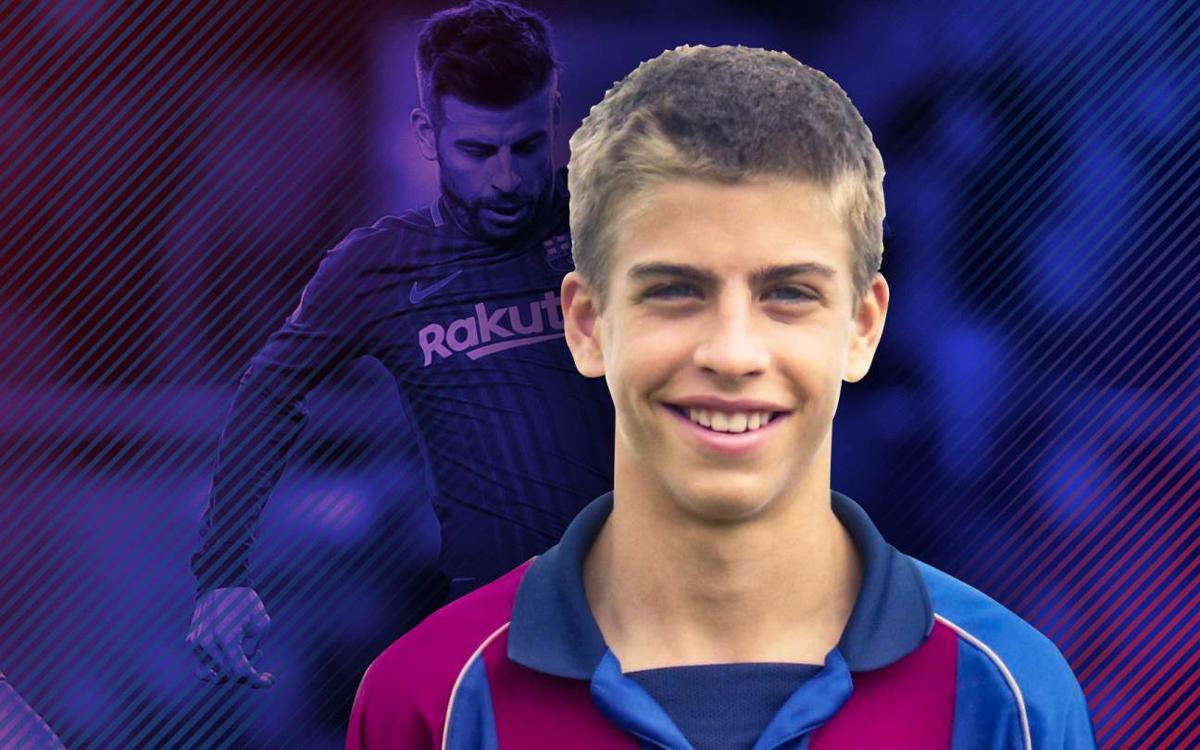 What was Piqué's childhood dream?