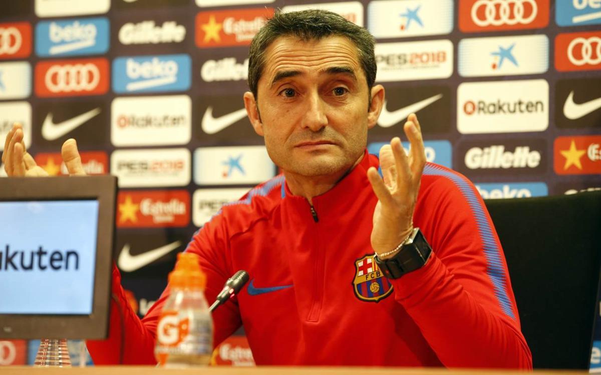 Ernesto Valverde, alerta: