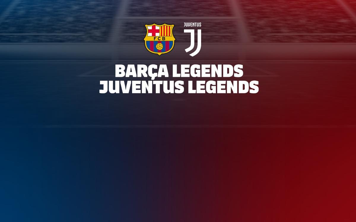 Els Barça Legends jugaran contra la Juventus a l'Índia