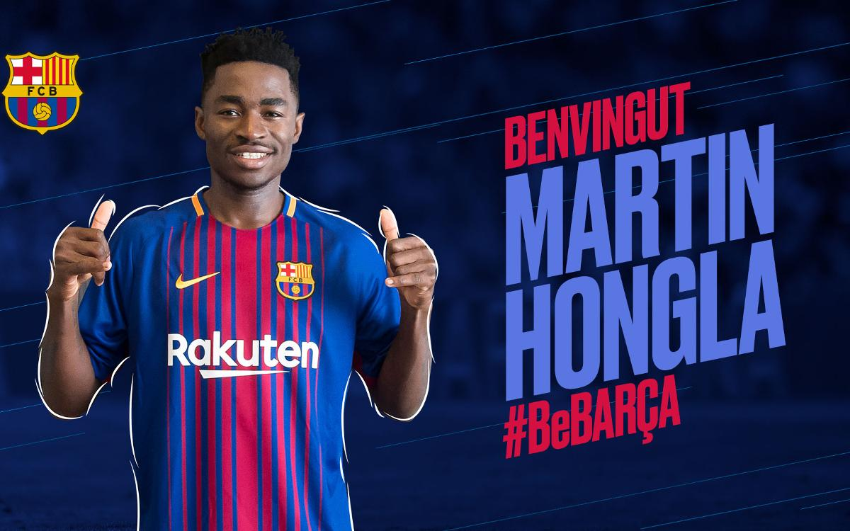 Martin Hongla arrive en prêt de Grenade au Barça B