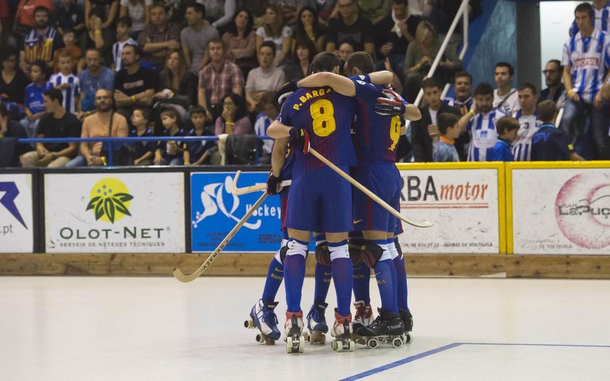 Lloret Vila Esportiva - Barça Lassa: Victory built from the back (0-1)