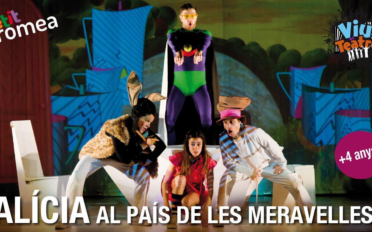 'Alícia al país de les meravelles' en el Petit Romea con descuento para socios