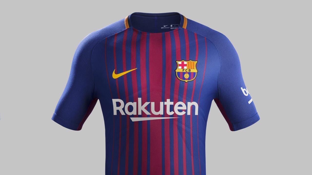 261814cf7 The new FC Barcelona kit for the 2017 18 season