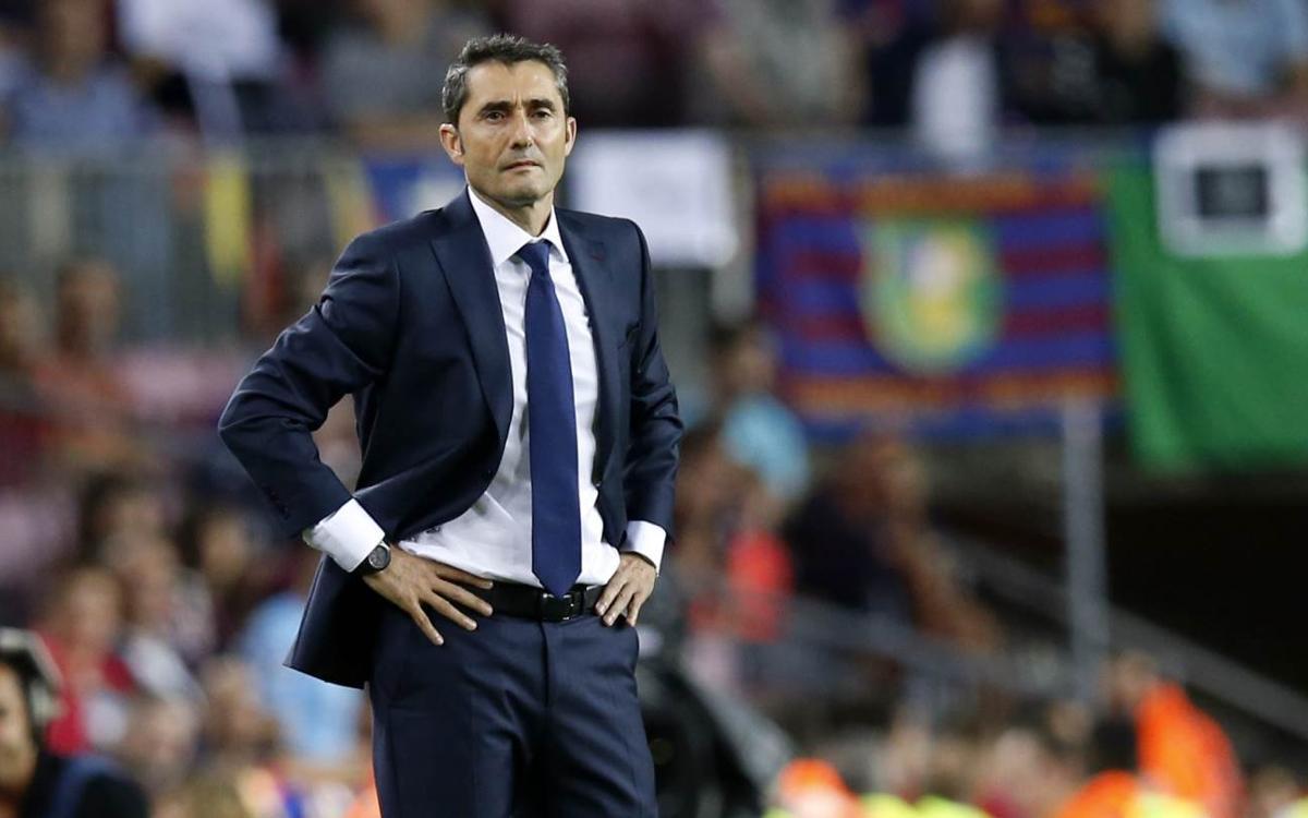 Ernesto Valverde, invicto contra el Celta