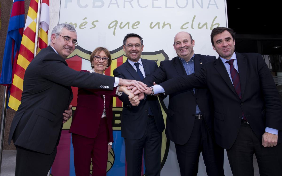 El Barça Innovation Hub firma un convenio pionero con ESADE para impulsar un máster en gestión deportiva
