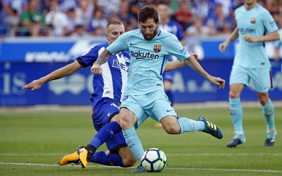 Confirmed kick-off time for FC Barcelona v Alavés