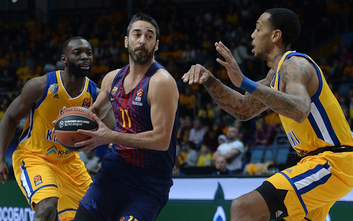 Khimki - Barça Lassa: A win to close the European year (65-79)
