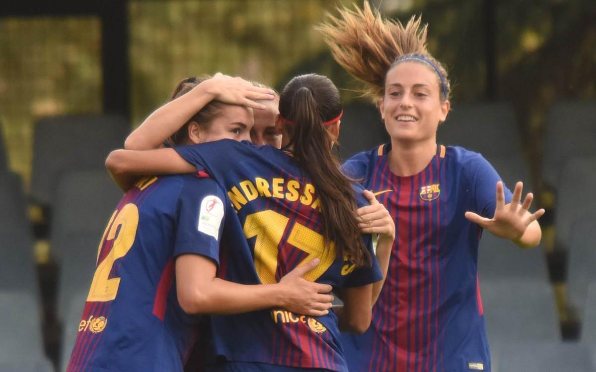 FK Gintra Universitetas - Barça Femenino (previa): Para seguir soñando
