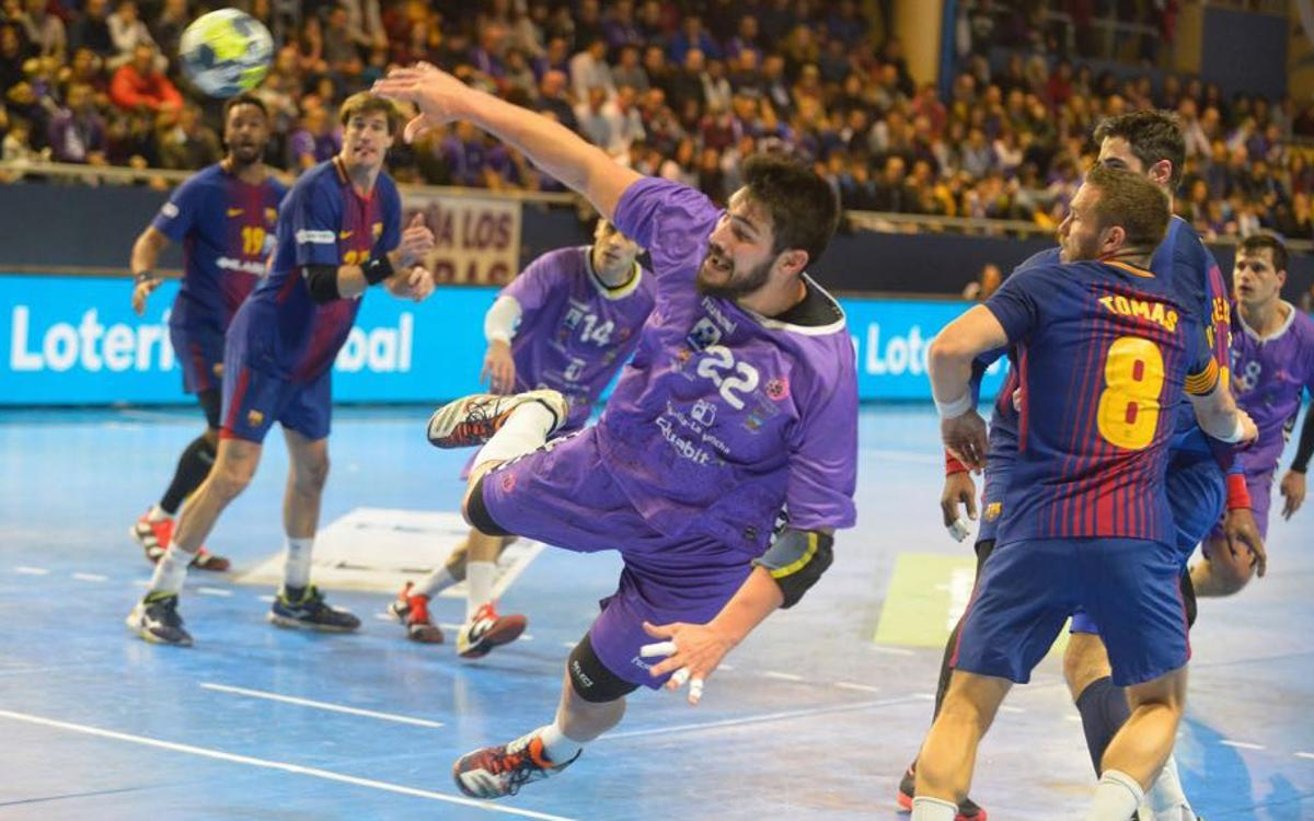 Quabit Guadalajara – Barça Lassa: Winning run comes to an end (26-26)